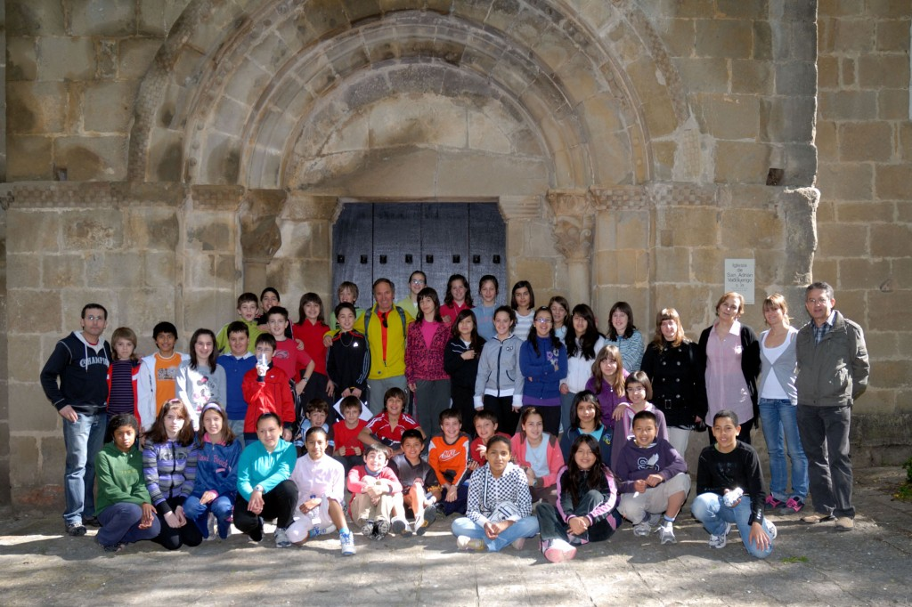 """Imagen de los participantes tomada del wiki """"Sangüesa en el Camino de Santiago"""""""