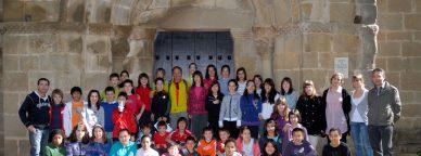 """Imagen de los participantes tomada del wiki """"Sangüesa camino de Santiago"""""""