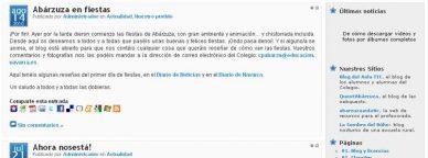 Blog del Colegio Público de Abárzuza