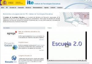 Página del ITE