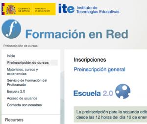 Cursos de formación del ITE