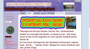 Wiki seguridad en la red colegio san francisco