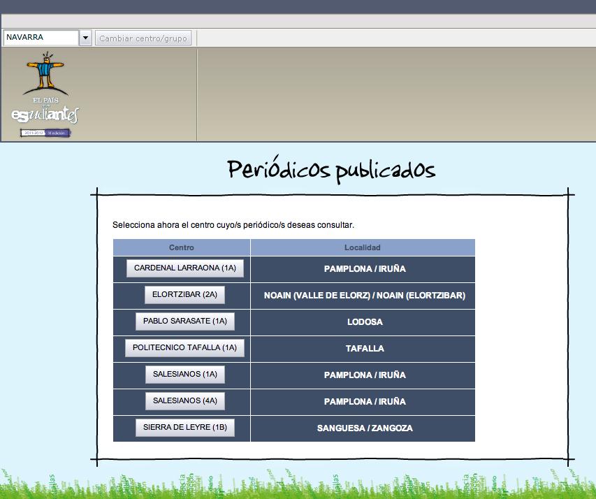 Periódicos de centros Navarra