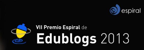 VII premio Espiral Edublogs