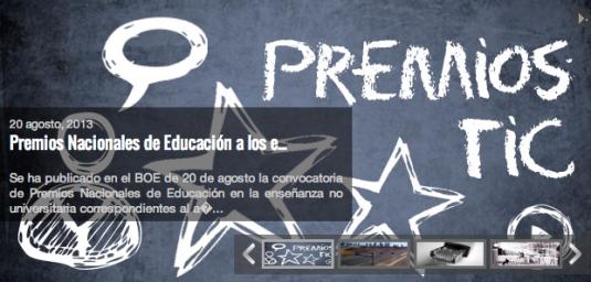 Premios Intef 2013