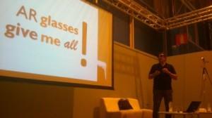 Conferencia de Raúl Reinoso en el Simo Network