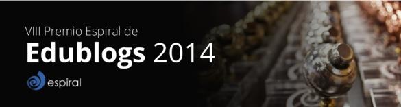 VIII edición de los premios Espiral Edublogs 2014