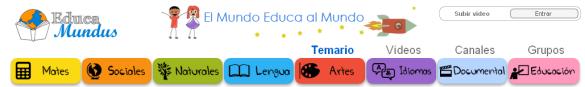 Educamundus: plataforma de vídeos