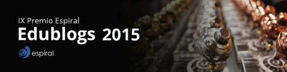 Premios Espiral edublogs 2015