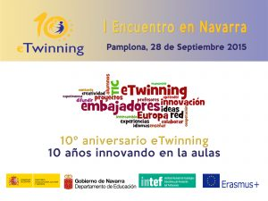 I Encuentro etwinning en Navarra.