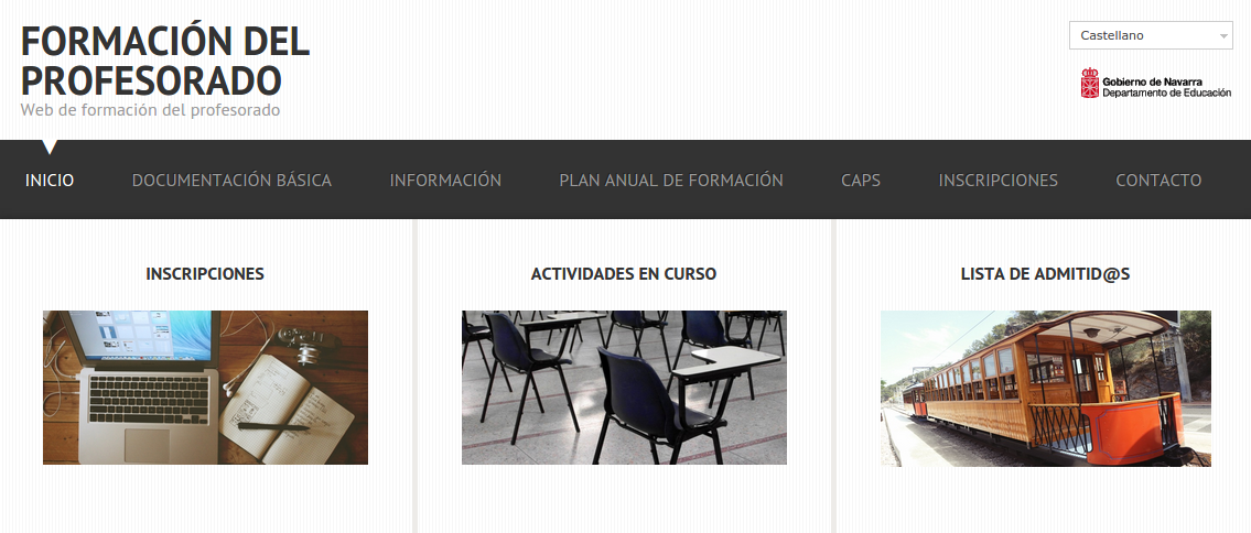 Formación del profesorado