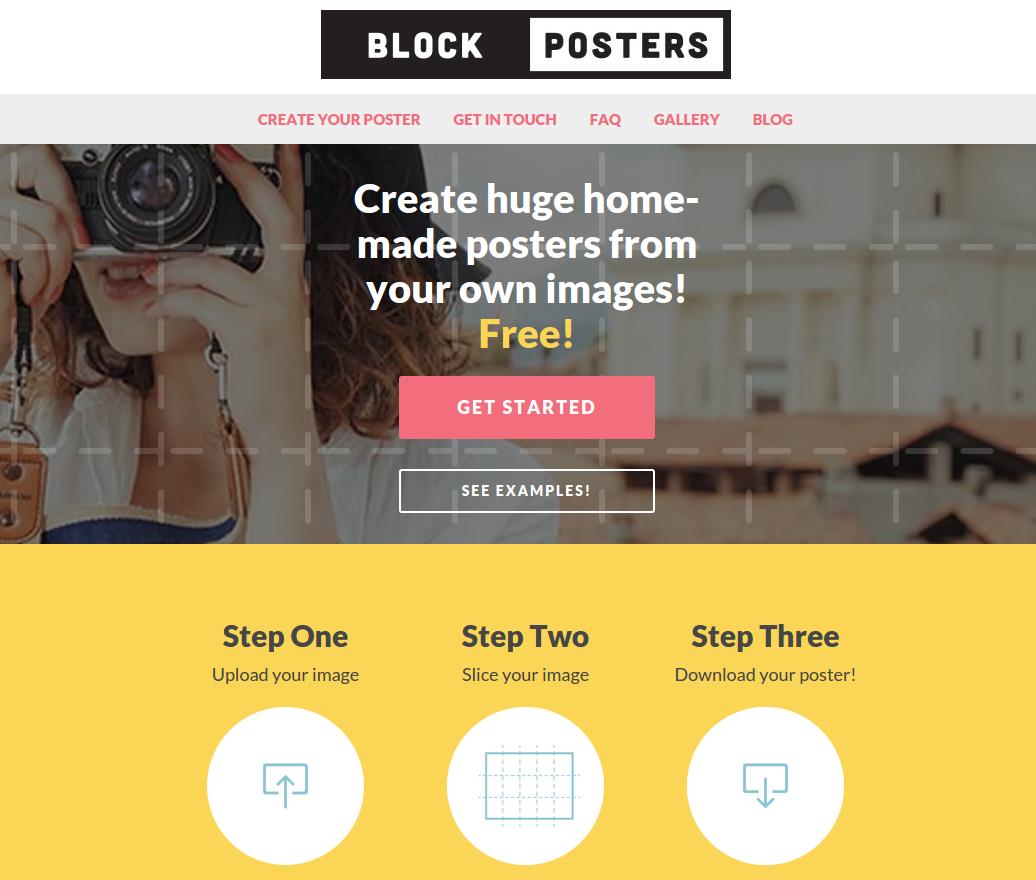 Herramienta online para crear pósters gigantes — ParaPNTE