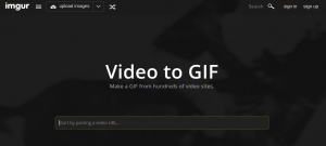 Imgur: Video to GIF
