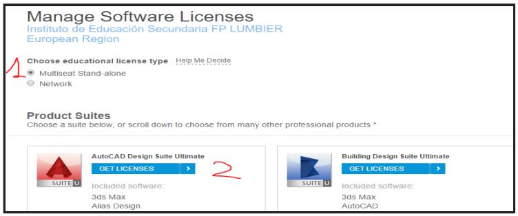 Licencia AUTOCAD