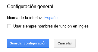 Activar la característica en Hojas de cálculo de Google