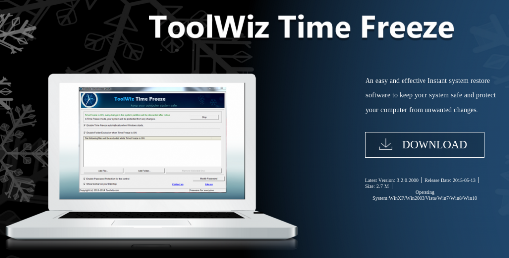 Descarga de ToolWiz Time Freeze