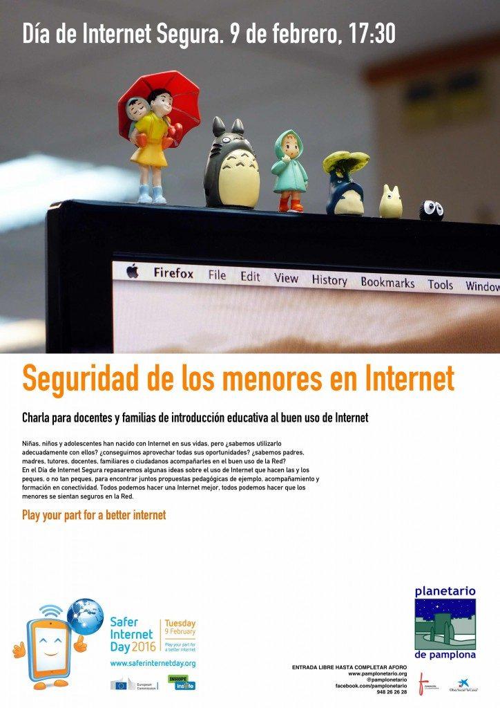 Charla en el Planetario: Seguridad de los menores en Internet
