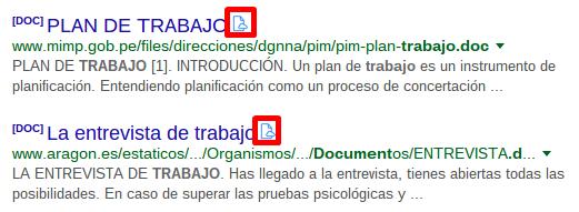 Icono para abrir los documentos con Docs Online Viewer