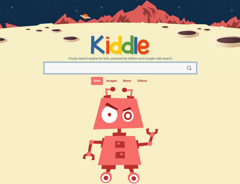 Kiddle, buscador para niños