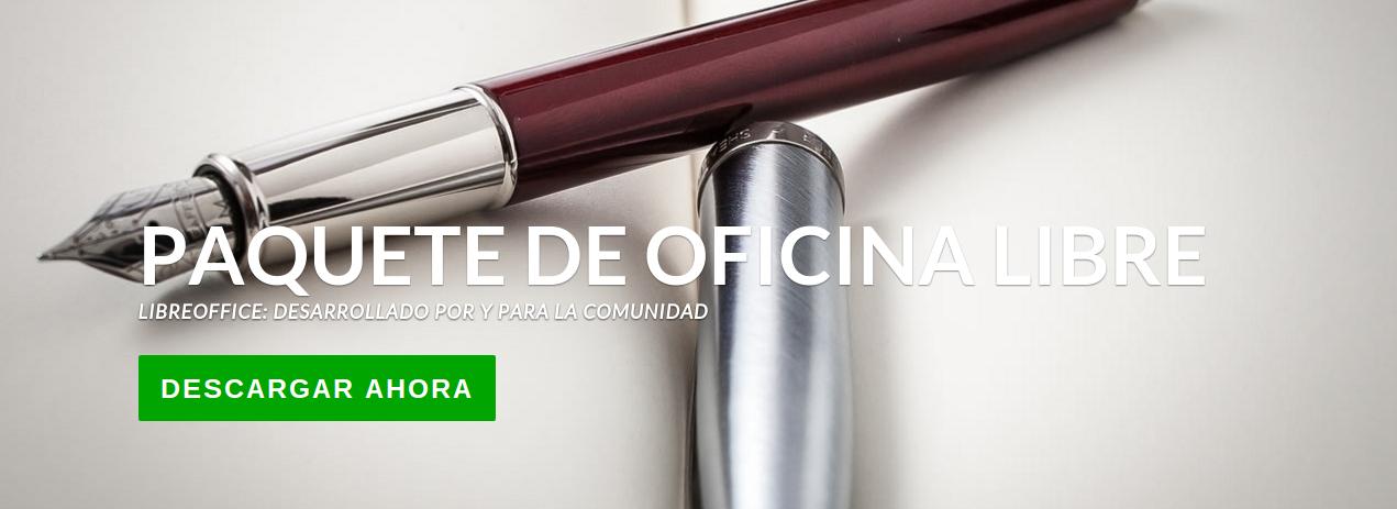 LibreOffice, paquete ofimático de código abierto