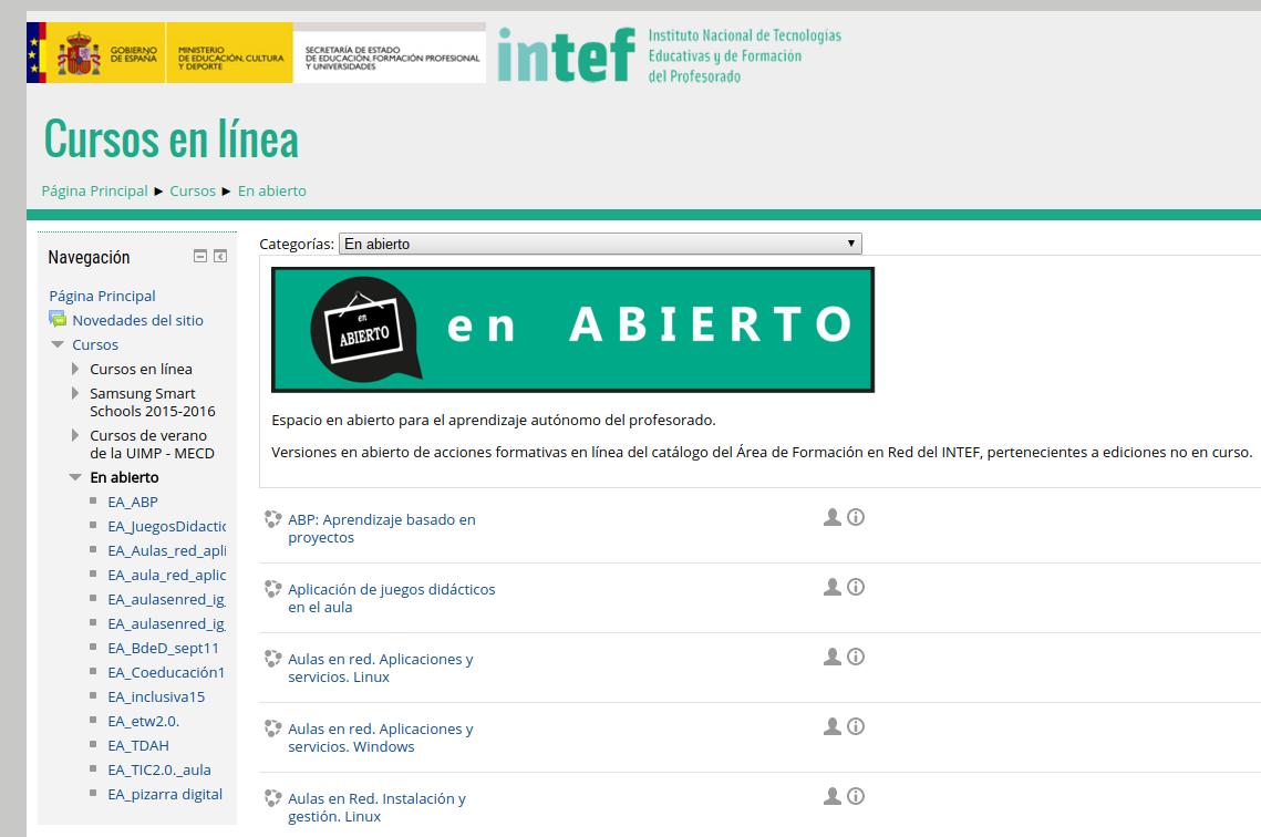 """""""En Abierto"""", nuevo espacio para el aprendizaje autónomo en línea"""