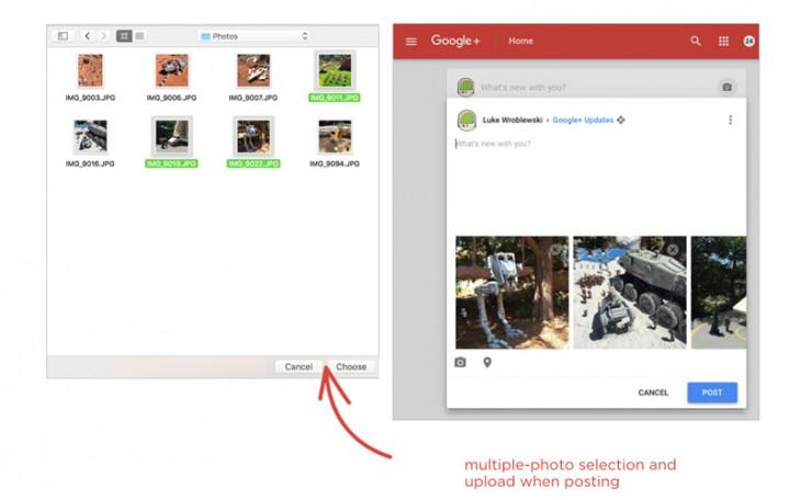 Última actualización de Google +