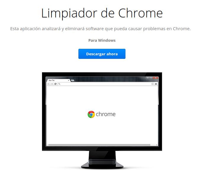 Limpiador de Chrome