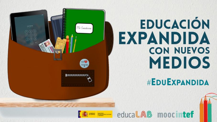 """MOOC """"Educación Expandida con nuevos medios"""". Imagen de educaLAB"""