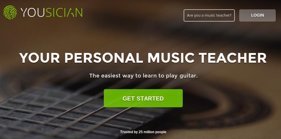 Yousician, aprende a tocar el ukelele, la guitarra o el piano