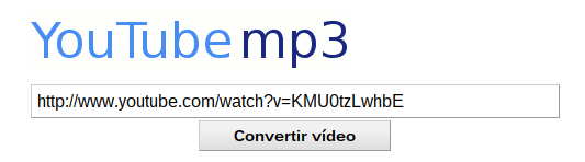 YouTubemp3, conversión de vídeo a mp3