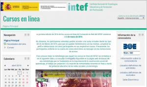 Aula virtual INTEF