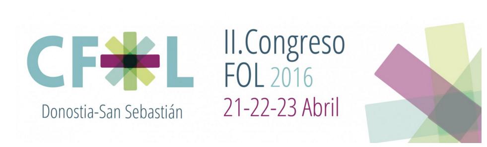 CFOL2016, II Congreso Nacional de Profesorado de Formación y Orientación Laboral en Donosti