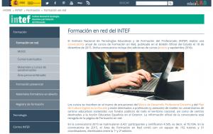 Formación en red del INTEF
