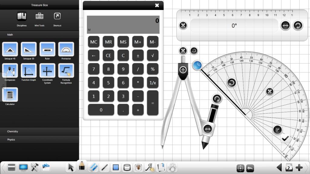 CleverMaths, software para PDI. Imagen de la página oficial del producto