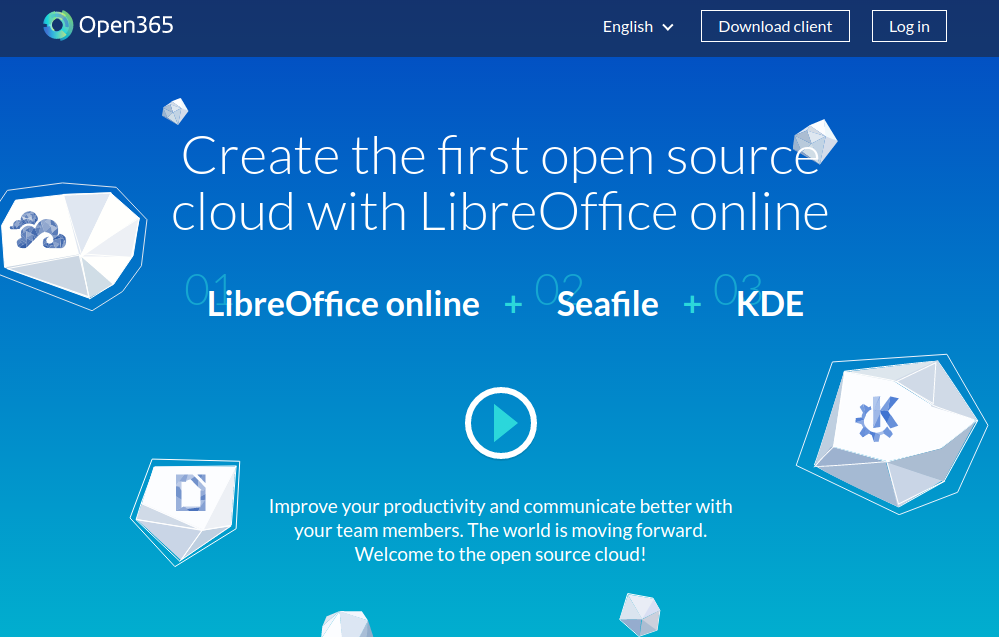 Open365, alternativa a Google Drive y a Microsoft Office 365