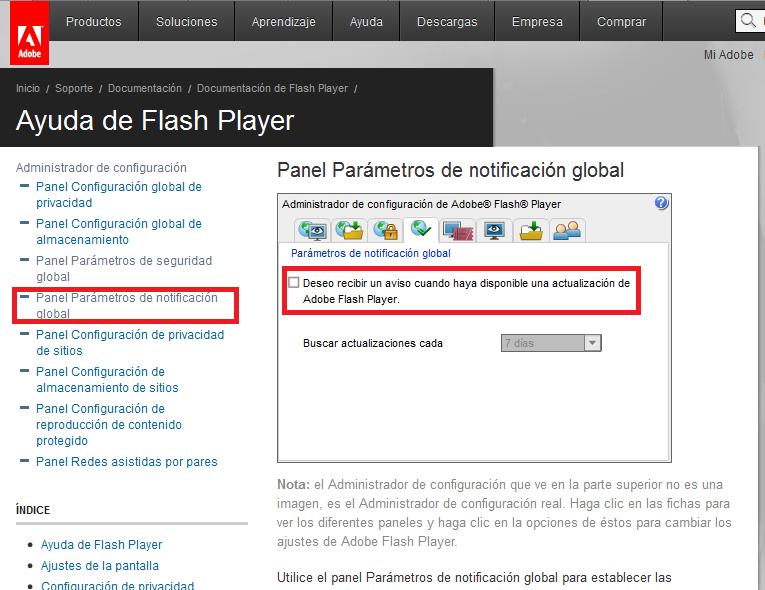 panelcontrol-flashplayer-actualizaciones