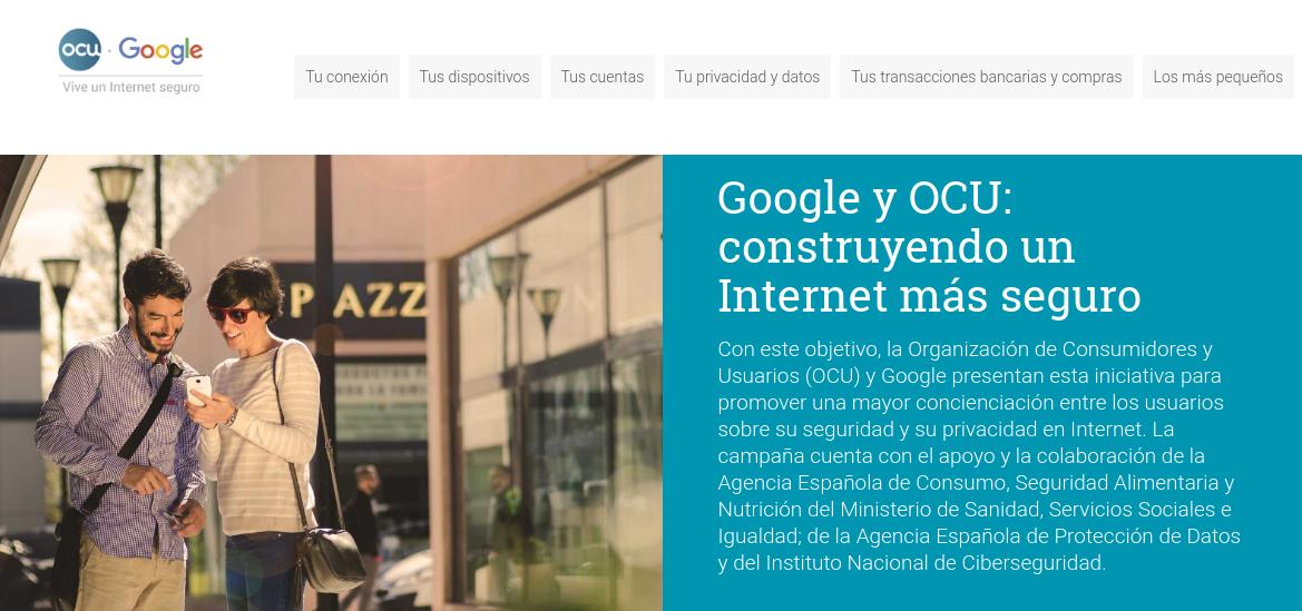 Google y OCU: construyendo un Internet más seguro