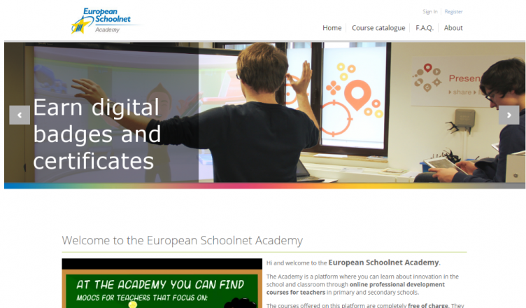 Convocatoria para participar en un MOOC de EUN Academy para coordinadores TIC