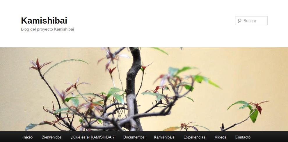 Blog del proyecto Kamishibai