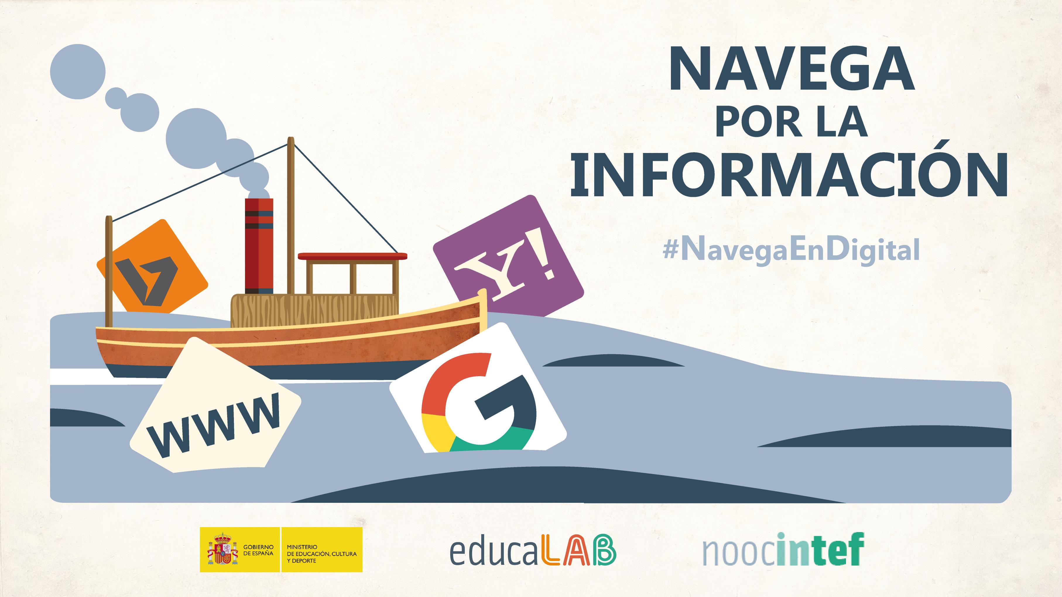 """NOOC del INTEF: """"Navega por la información"""""""