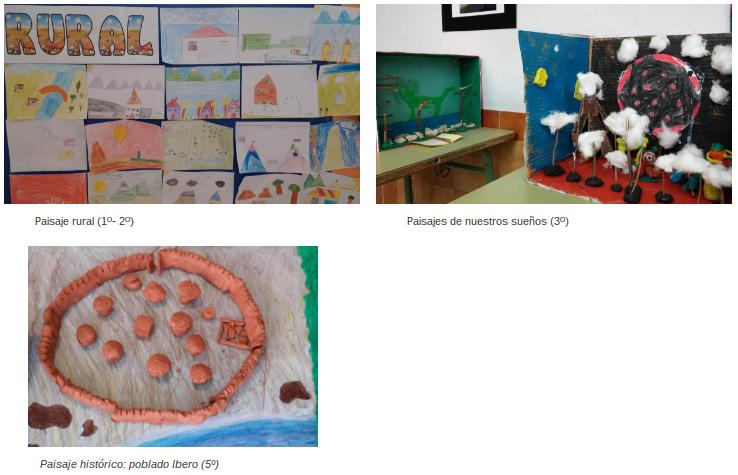 Algunas obras del proyecto
