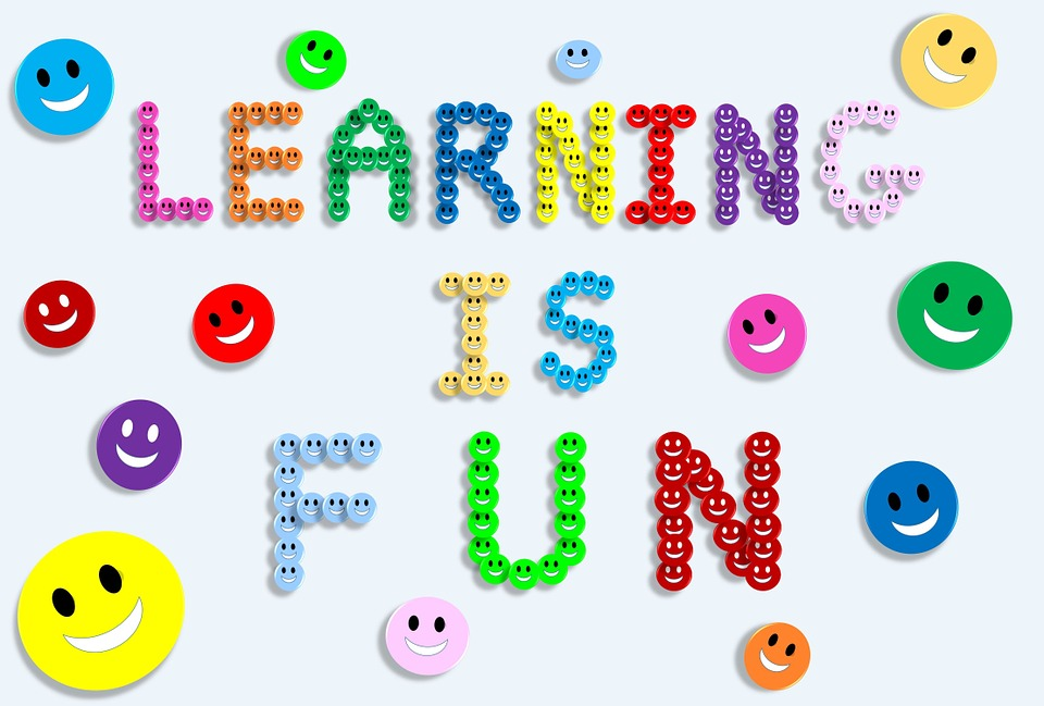 Learning is fun, by ZIPNON CC0 Public Domain