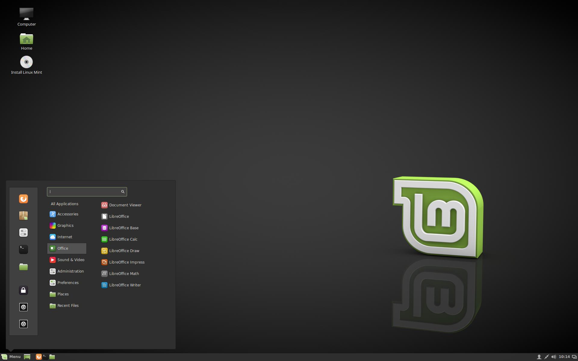 "Linux Mint 18 ""Sarah"" Cinnamon"