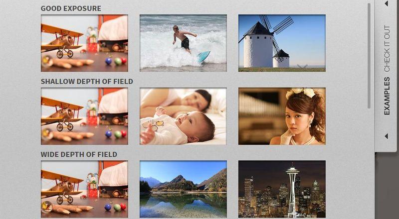Ejemplos con la aplicación web de Canon