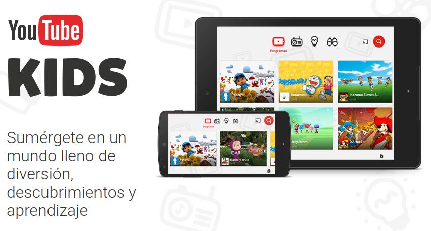 YouTube Kids, el YouTube de los más pequeños de la casa