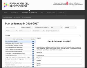 Plan de formación 2016-2017