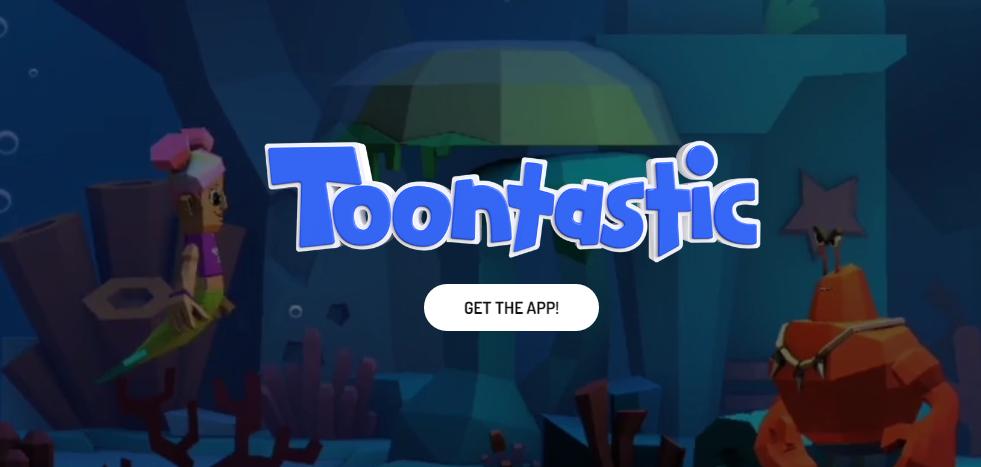 Captura de pantalla de la página de: https://toontastic.withgoogle.com/