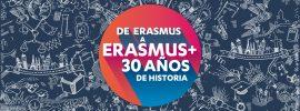 Erasmus + 30 años de historia
