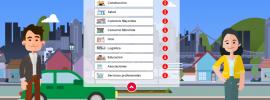 Captura de pantalla de la página de Ciberseguridad