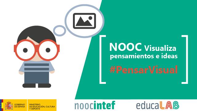 Banner del NOOC Visualiza el pensamiento